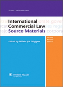 Couverture International Commercial Law Source Materials