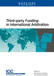 Couverture Third-Party Funding in International Arbitration