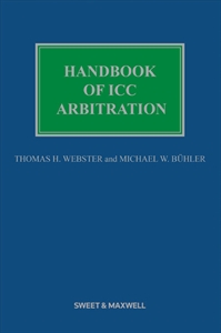 Couverture Handbook of ICC Arbitration